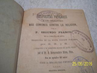 Repuesta Populares Cntra La Religion 1881x Psegundo Franco