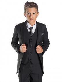 8d7429736 Ambos traje Para Niños Saco Y Pantalon Italiano Super 100