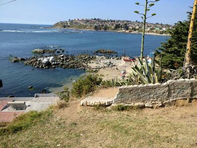 Cabaña Bajada A La Playa En Quintero.