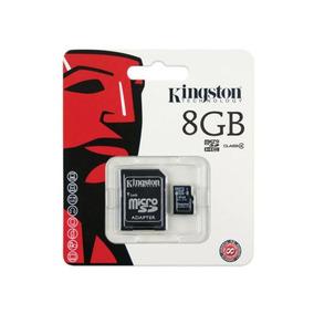 Cartao De Memoria Kingston 8 Gb Classe 4 (sc4-8gb)