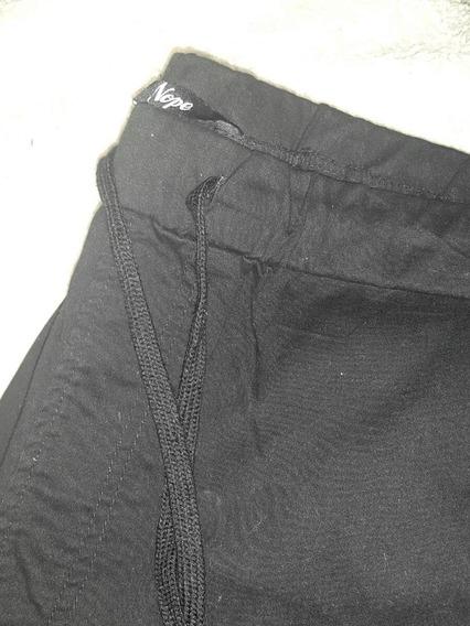 Pantalon Ambo Negro Importado Chupin