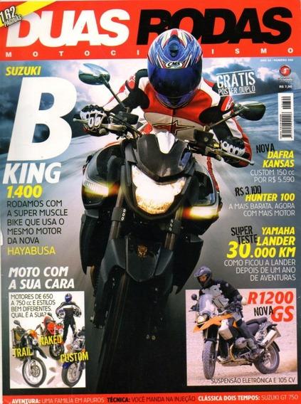 Duas Rodas N°390 Suzuki B-king 1400 Yamaha Lander Hunter 100