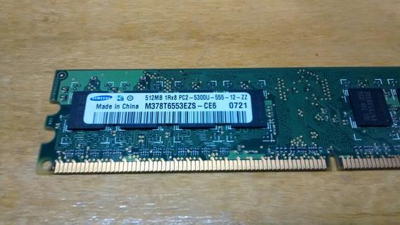 Memoria Ram Ddr2 512mb 555,667 Mhz Varias Marcas Pc