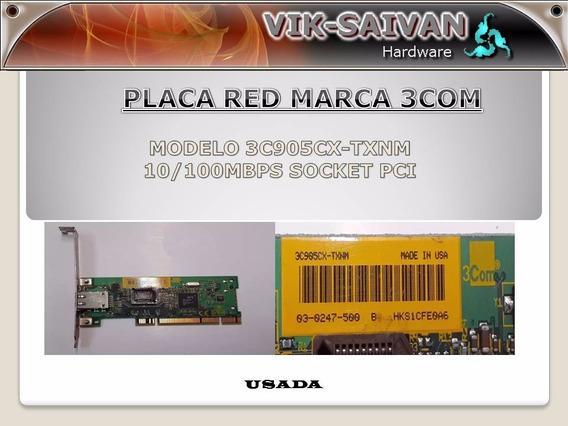 Placa De Red 3com 3c905cx-txnm 10/100 Pci 58