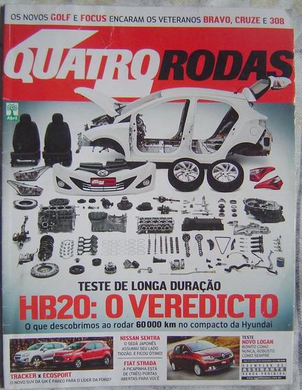 Revista 4 Rodas Especial - Edição 649 - Hb20: O Veredicto