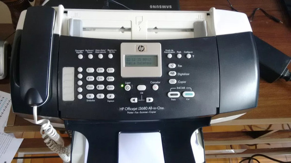 Impressora Hp Multifuncional Officejet J3600 Series