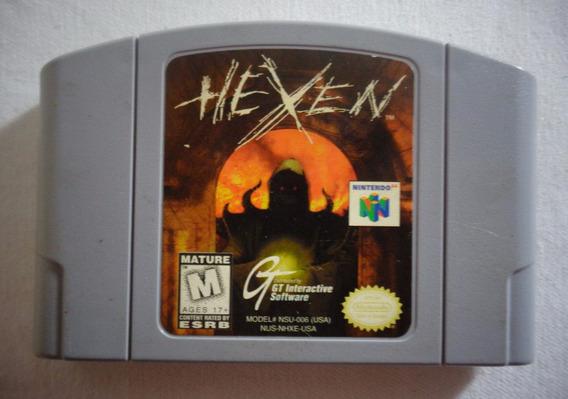 Cartucho Hexex Nintendo 64