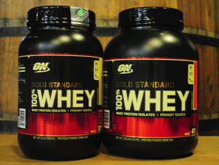 2x Gold 100% Whey Protein Optimum (2x900g)
