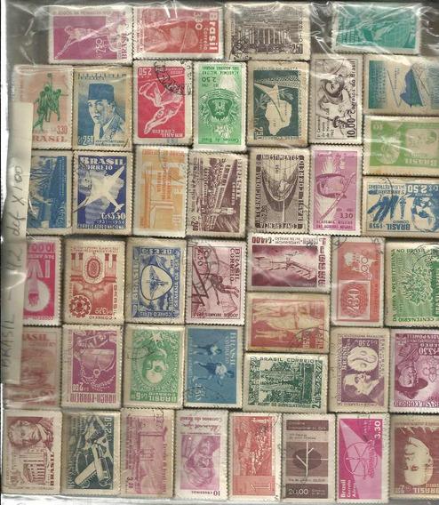 4200 Estampillas Brasil Conmemorativ +de 1200 Euros Catalogo