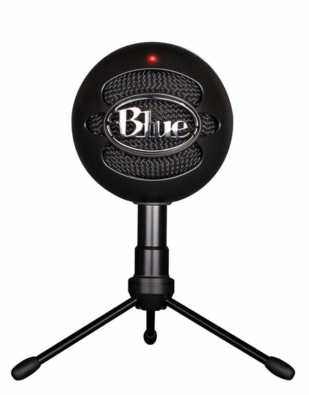 Microfone Condensador Blue Snowball Ice Preto