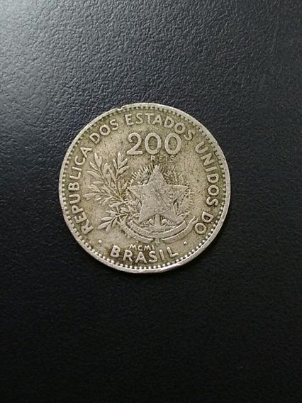 Moeda 200 Reis República Dos Estados Unidos Do Brasil 1889