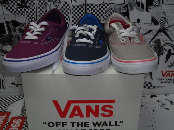 Zapatillas Vans Mod Era Marino!! 100% Original! Vs Colores!