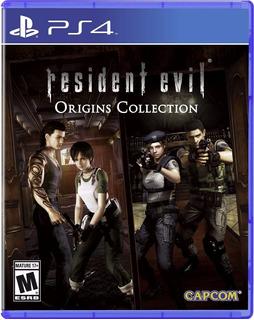 Resident Evil Origins Collection Ps4 Nuevo Fisico Español