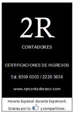 Contadores Publicos Certificaciones De Ingresos Cpa,
