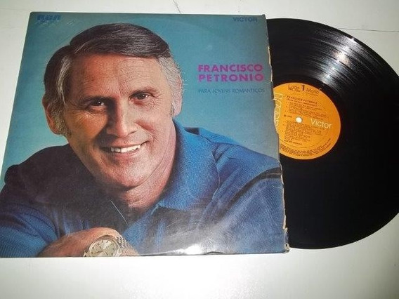 Lp Vinil - Francisco Petronio - Para Jovem Romanticos