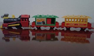 Miniatura Kiko Trem Anos 60 Raro Union Pacifc Western