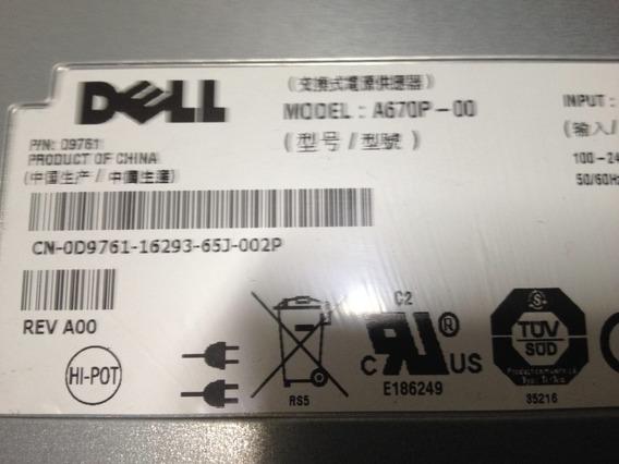 Fonte Servidor Dell Power Edge 1950 A670p-00