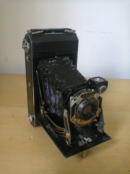 Maquina Camera Kodak Six-20 Antiga De Fôle.