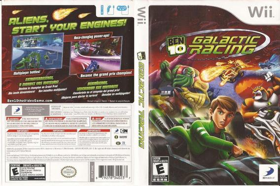 Jogo Usado De Corrida Ben10 Galactic Racing Para Wii - Zeh3