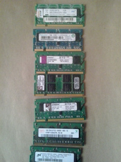 Memorias Notebook Ddr2 1gb Varias Marcas
