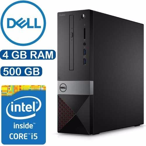 Computador Dell Vostro Sff Intel I5 4gb 500gb Win10 Wifi