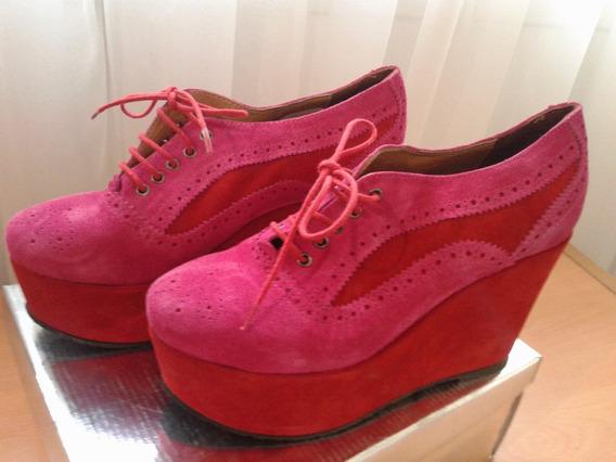 Zapatos Botitas Abotinado Gamuza Sarkany Naivas T 39 Nuevas