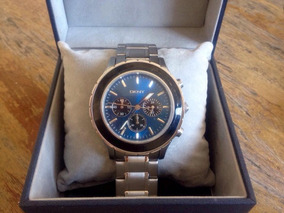 Relógio Social Unissex Novo Donna Karan Dkny1512