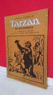 Hq A Primeira Aventura De Tarzan Em Quadrinhos Original