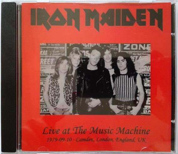 Cd Iron Maiden - Maiden Music Machine 79