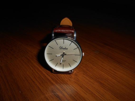 Relógio Masculino - Pulseira Marrom - Dalas - Frete Grátis