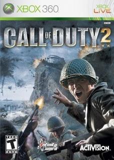 Call Of Duty 2 Xbox 360 Sellado