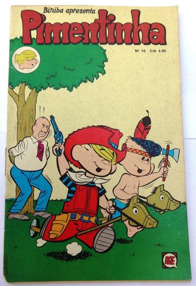 Pimentinha Nº 10: Pimentinha Vê Estrelas - Rge - 1977