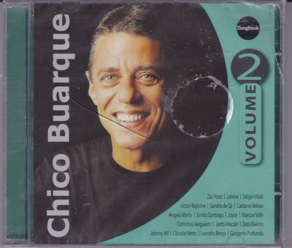 Cd Chico Buarque - Songbook Vol 2 (novo)
