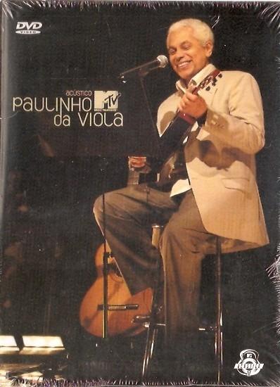 Dvd Paulinho Da Viola - Acustico Mtv - Novo***