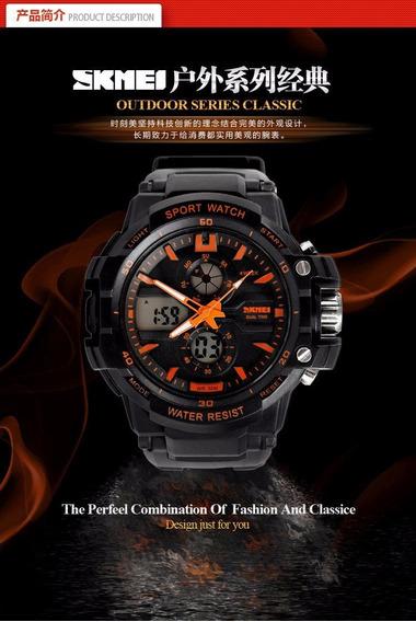 Relógio Digital De Skmei Luxo Led Watch Men Quartz Relogio
