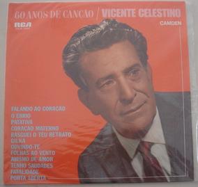 Lp Vicente Celestino60 Anos De Canção -1968