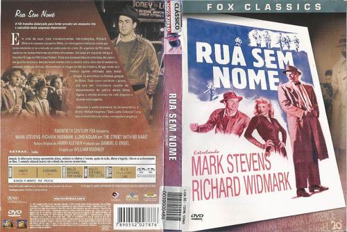 Dvd - Rua Sem Nome - Mark Stevens, Richard Widmark | Mercado Livre