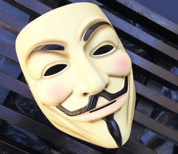 Máscara V De Venganza Vendetta Anonymous Original Dc Comics