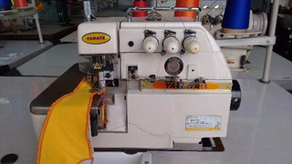 Máquina De Costura Overlock Industrial,3 Fios Yamata+frete