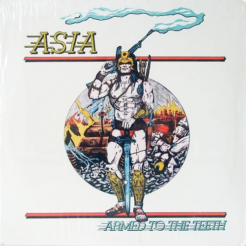 Asia - Armed To The Teeth - Cd - Importado!
