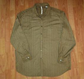 Axis Camisa Rayada Talla 2xl Tela Seda /rayon