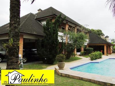 Casa Na Praia De Peruíbe, Litoral Paulista, Com 4 Dormitórios, Sendo 4 Suítes, Piscina - Ca00943 - 1743358