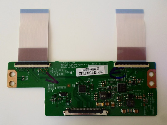 Placa T-con C/ Flats Tv Lg 42ly340c Ou 340h (6870c-0480a)