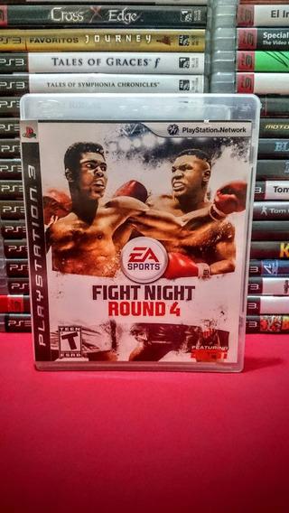 Fight Night Round 4 Ps3 Midia Fisica Novissimo Frete $10