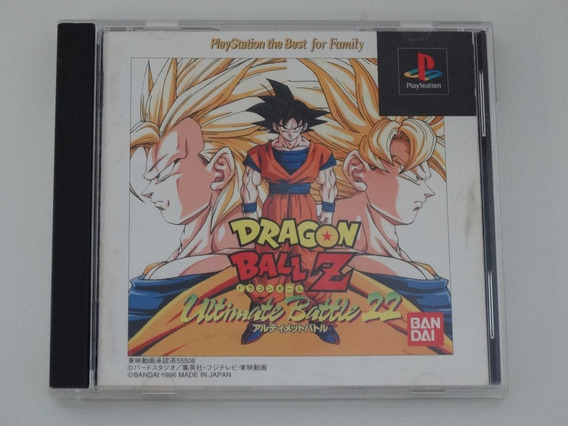 Ps1 Dragon Ball Z Ultimate Battle 22 Japones