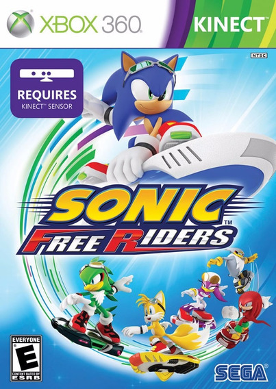 Xbox 360 Jogo Sonic Free Riders Novo-frete Gratis