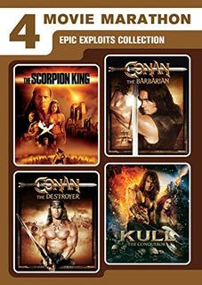 Dvd : - 4-movie Marathon: Epic Exploits Collection (sn...