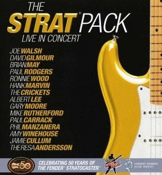 Dvd - The Strat Pack - Vs. Interpretes - Nuevo - Envios.-