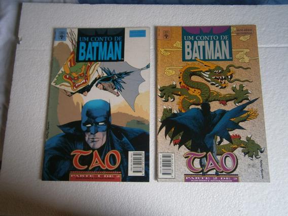 Batman Varias Miniseries Com 2 Volumes Antigas E Raras