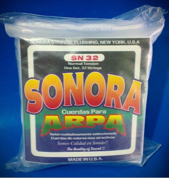 Cuerdas Para Arpa Sonora (sn 32)